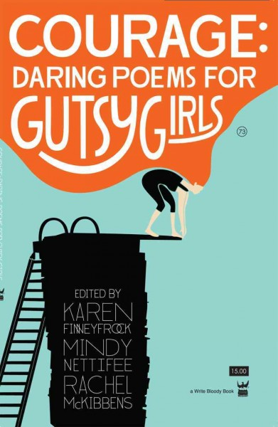 Cover of Courage: Daring Poems for Gutsy Girls