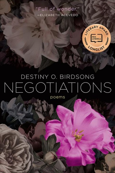 Cover of Negotiations: Poems