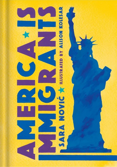 Cover of America is Immigrants