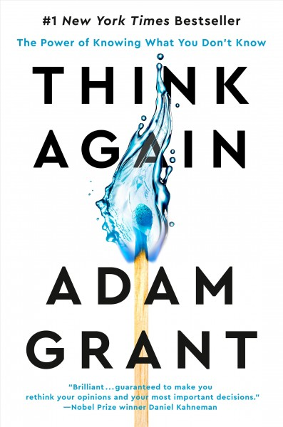 Cover of Think Again: The Power of Knowing What You Don't Know
