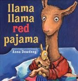 Cover of Llama, Llama Red Pajama