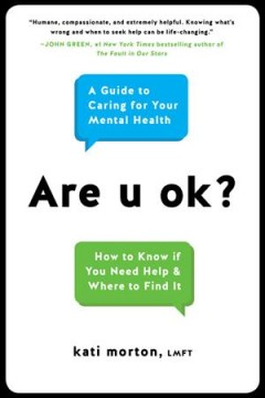 Cover of Are u ok? : A guide to caring for your mental health