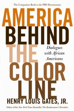 Cover of America Behind the Color Lines