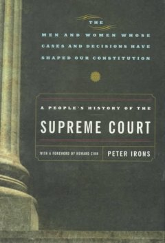 Cover of A people's history of the Supreme Court