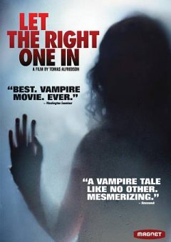 Cover of Let the Right One In (2008, Swedish)