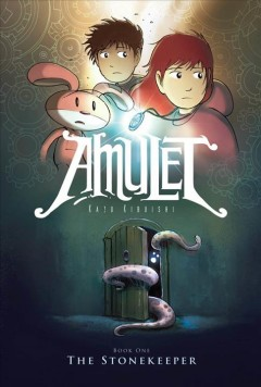 Cover of The Stonekeeper (Amulet Series, Book 1)