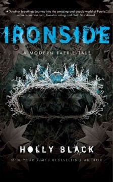 Cover of Ironside: A Modern Faery's Tale