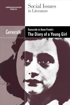 Cover of Genocide in Anne Frank's the Diary of a young girl