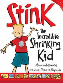 Cover of Stink: The Incredible Shrinking Kid