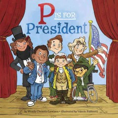 Cover of P is for President