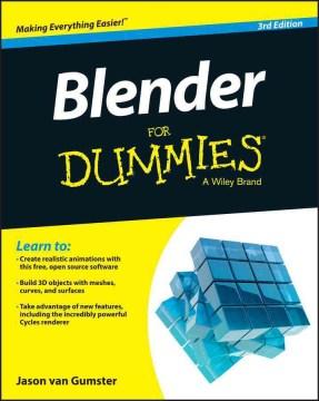 Cover of Blender for Dummies
