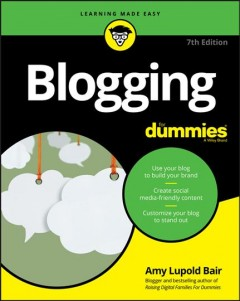 Cover of Blogging for Dummies