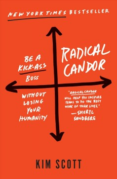 Cover of Radical Candor: Be a Kick-Ass Boss without Losing Your Humanity