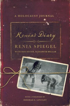 Cover of Renia's diary: A Holocaust Journal
