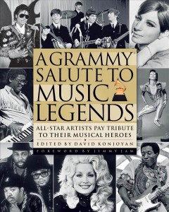 Cover of A Grammy Salute to Music Legends: All-Star Artists Pay Tribute to Their Musical Heroes