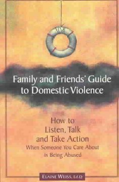 Cover of Family and Friends Guide to Domestic Violence