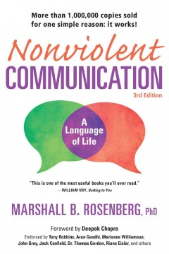 Cover of Nonviolent Communication: A Language of Life