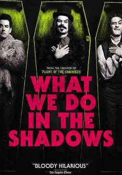 Cover of What We Do in the Shadows (New Zealand, 2015)