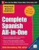 Cover of Complete Spanish All-In-One