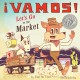 Cover of ¡Vamos! Let's Go to the Market, illustrated and written