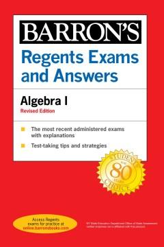Barron's Regents Exams and Answers Algebra I