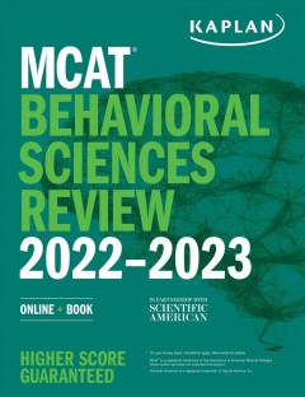 MCAT behavioral sciences review 2022-2023