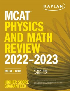MCAT physics and math review 2022-2023