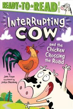 Interrupting Cow and the chicken crossing the road