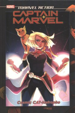 Marvel Action - Captain Marvel - Cosmic Cat-tastrophe