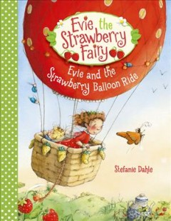 Evie and the strawberry balloon ride