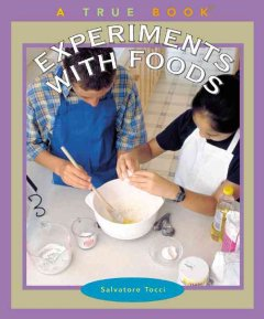 Experiments with Foods - Salvatore Tocci