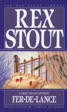 Nero Wolfe mysteries - Rex Stout