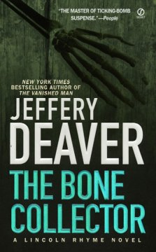 Lincoln Rhyme mysteries - Jeffery Deaver