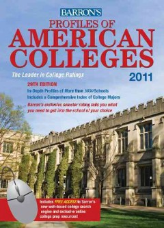 Barrons Profiles of American Colleges