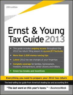 Ernst and Young Tax Guide 2013 - Ernst & Young
