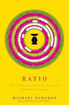 Ratio: The Simple Codes Behind the Craft of Everyday Cooking - Michael Ruhlman