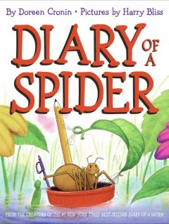 Diary of a spider (Tumblebook) - Doreen Cronin