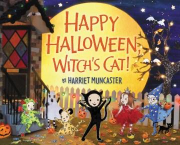Happy Halloween, witch's cat! - Harriet Muncaster