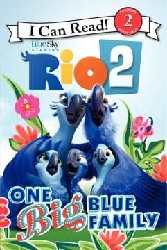 One big blue family - Cathy Hapka