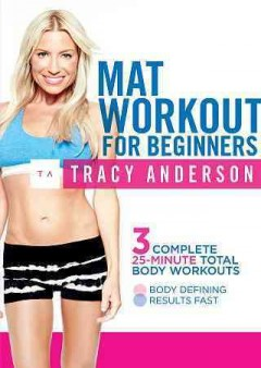 Tracy anderson: mat workout for beginners.