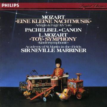 Eine kleine Nachtmusik : serenade in G, K. 525 ; Adagio and fugue in C minor, KV 546 - Wolfgang Amadeus Mozart