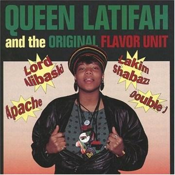 Queen Latifah & the original Flavor Unit. - 1970-performer.composer Queen Latifah