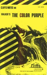 CliffsNotes on The color purple : notes - Gloria Rose