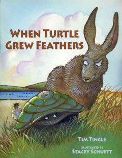 When Turtle grew feathers (Tumblebook) : a folktale from the Choctaw nation - Tim Tingle