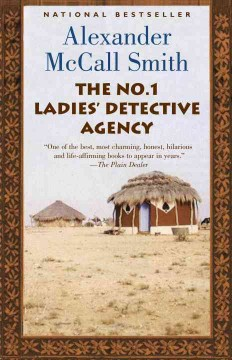 The No. 1 Ladies' Detective Agency (series) - Alexander McCall Smith