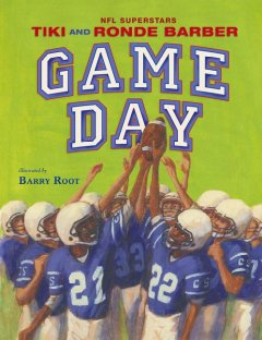 Game day (Tumblebook) - Tiki Barber