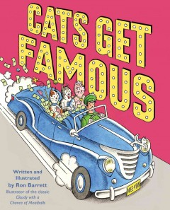 Cats get famous - Ron Barrett