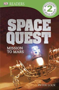 Space quest : mission to Mars - Peter (Author at Dorling Kindersley Publishing Lock
