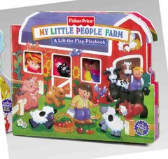 My little people farm : a lift-the flap playbook - Doris Tomaselli