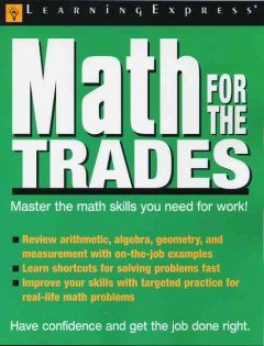 Math for the trades.